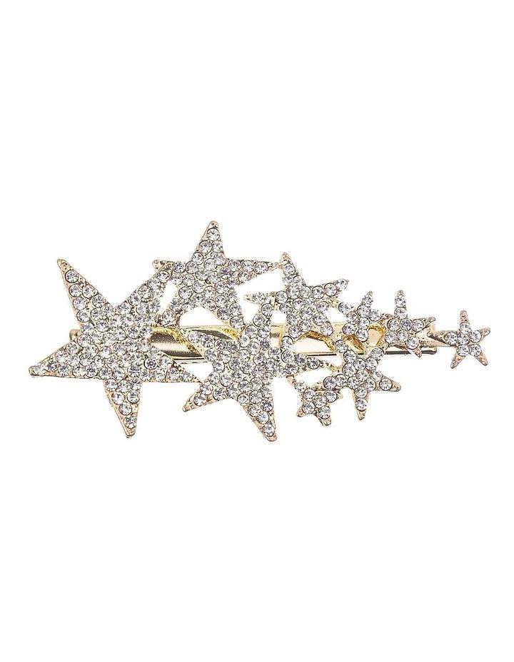 Diamante Stars Alligator Clip Hair Accessory image 1