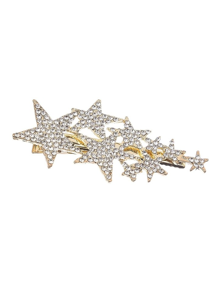 Diamante Stars Alligator Clip Hair Accessory image 2