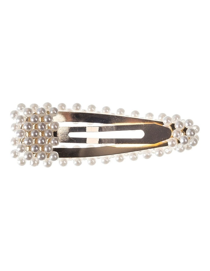 Pearl Snap Clip Hair Accessory image 2