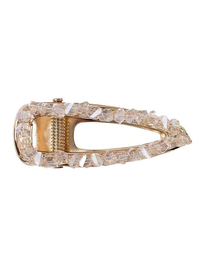 Crystal Alligator Clip Hair Accessory image 1