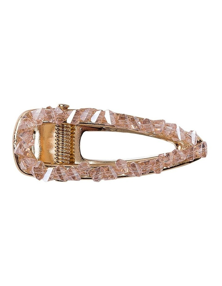 Crystal Alligator Clip Hair Accessory image 1