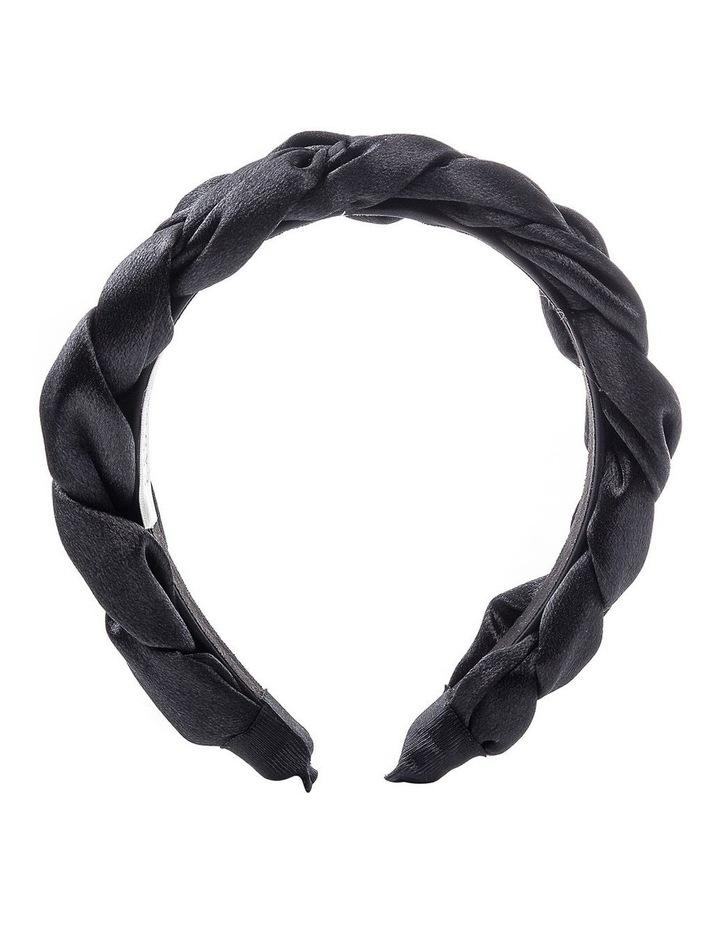 GHAQ023M Plaited Satin Headband image 1