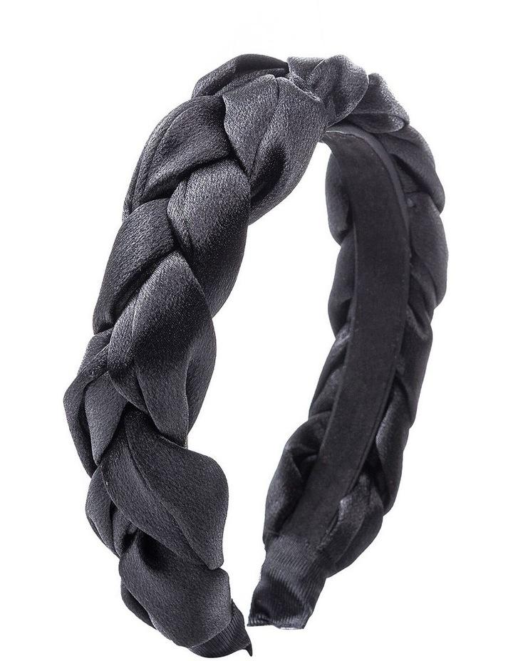 GHAQ023M Plaited Satin Headband image 2