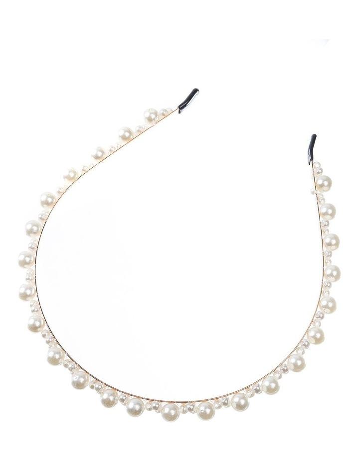 GHAQ010M Multi Pearl Headband image 2