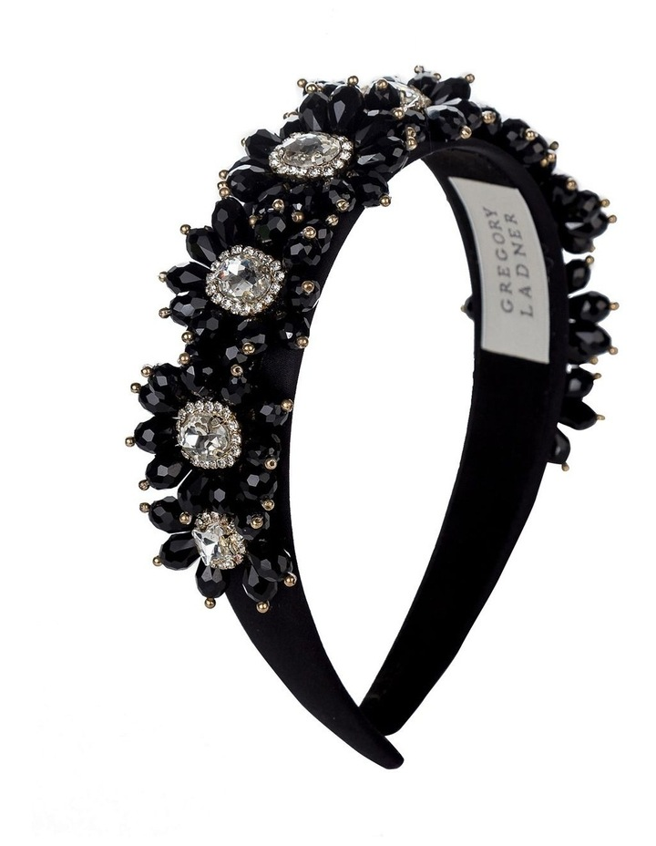 GHAR025M Flower Beaded Headband Hair Accessory image 2