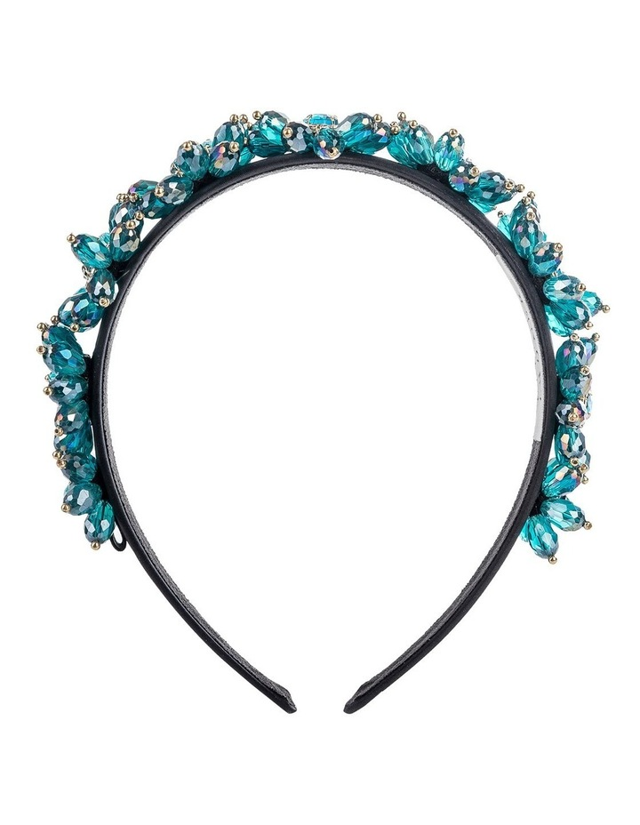 GHAR025M Flower Beaded Headband Hair Accessory image 1
