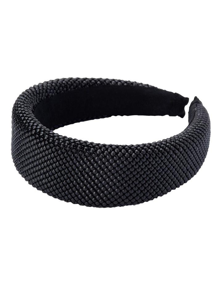 Ebony Metal Mesh Headband image 2