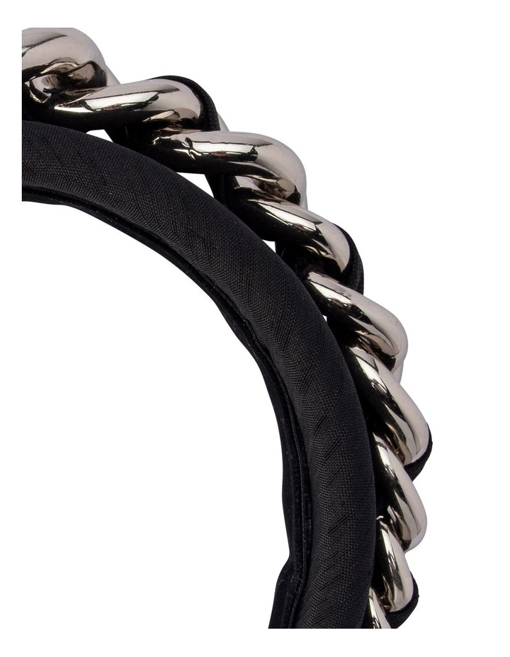 Greer Chain Embellished Padded Headband image 3