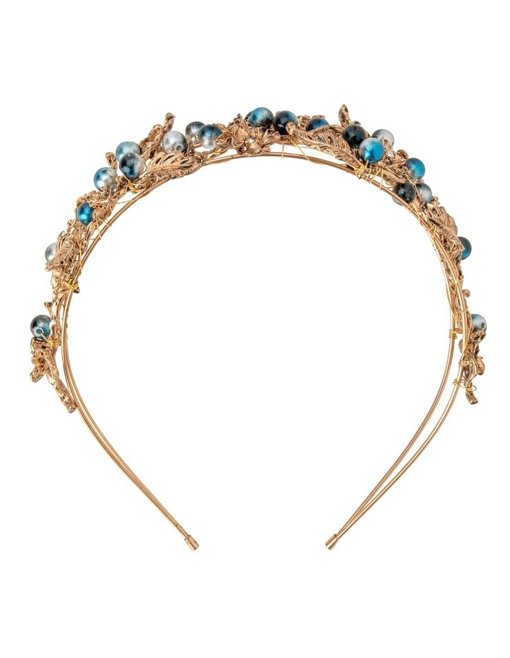 NINA Metal Flower Encrusted Headband image 1