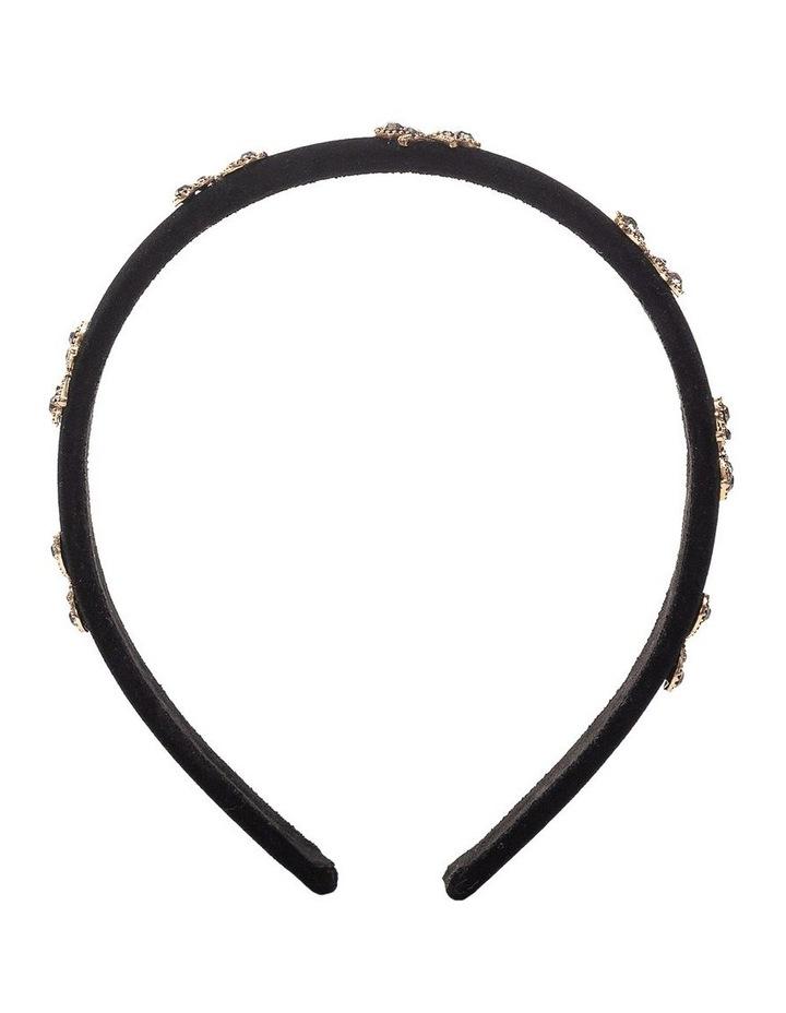 GHAS014M Velvet Headband With Bows image 2