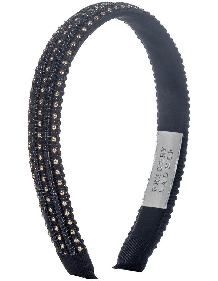 Stud Black Headband image 2