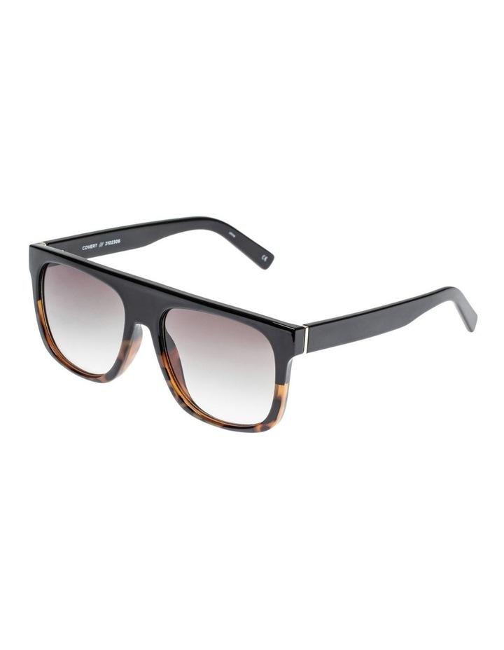 Covert Black Rectangle Sunglasses LSP2102306 image 1