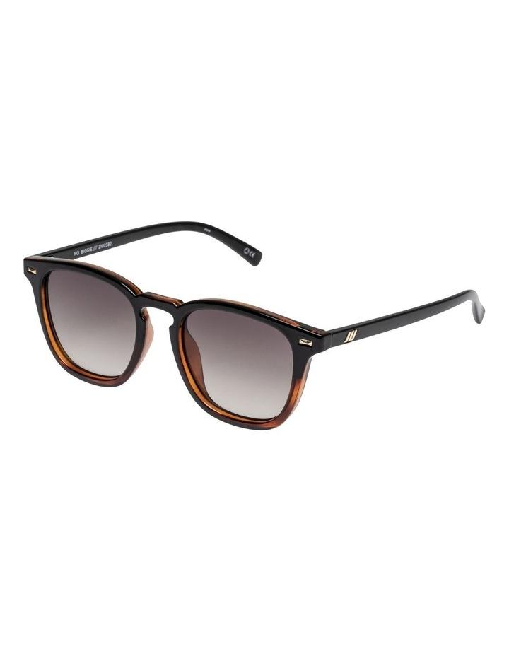 No Biggie Black Tort Sunglasses image 2