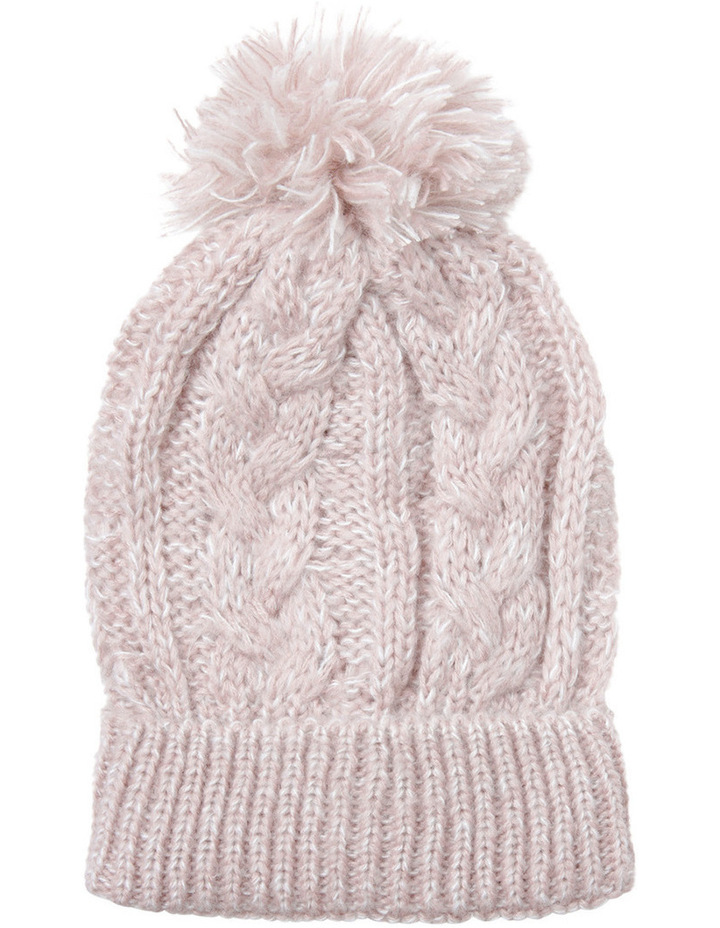 2d686cfde3d Cable Beanie with Pom Pom image 1