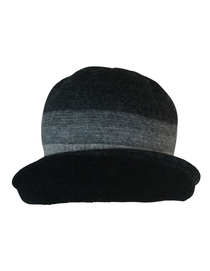Striped Turn Up Winter Hats image 1