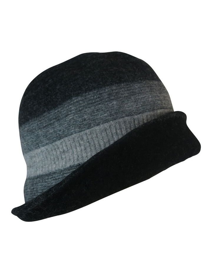 Striped Turn Up Winter Hats image 3