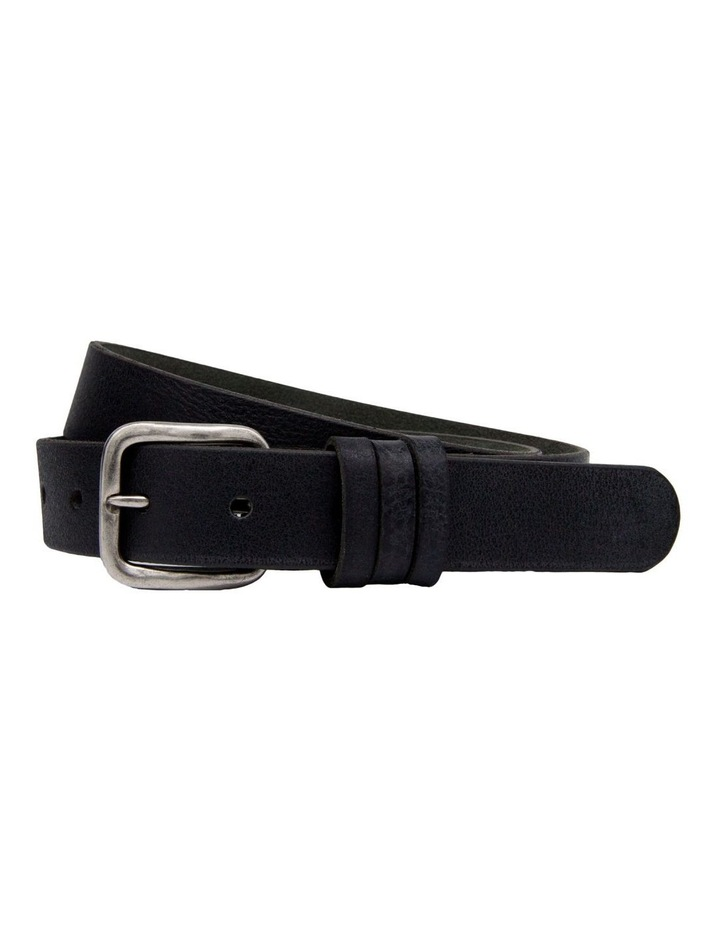 MLA1287 30mm Levano Milled Leather Belt image 1