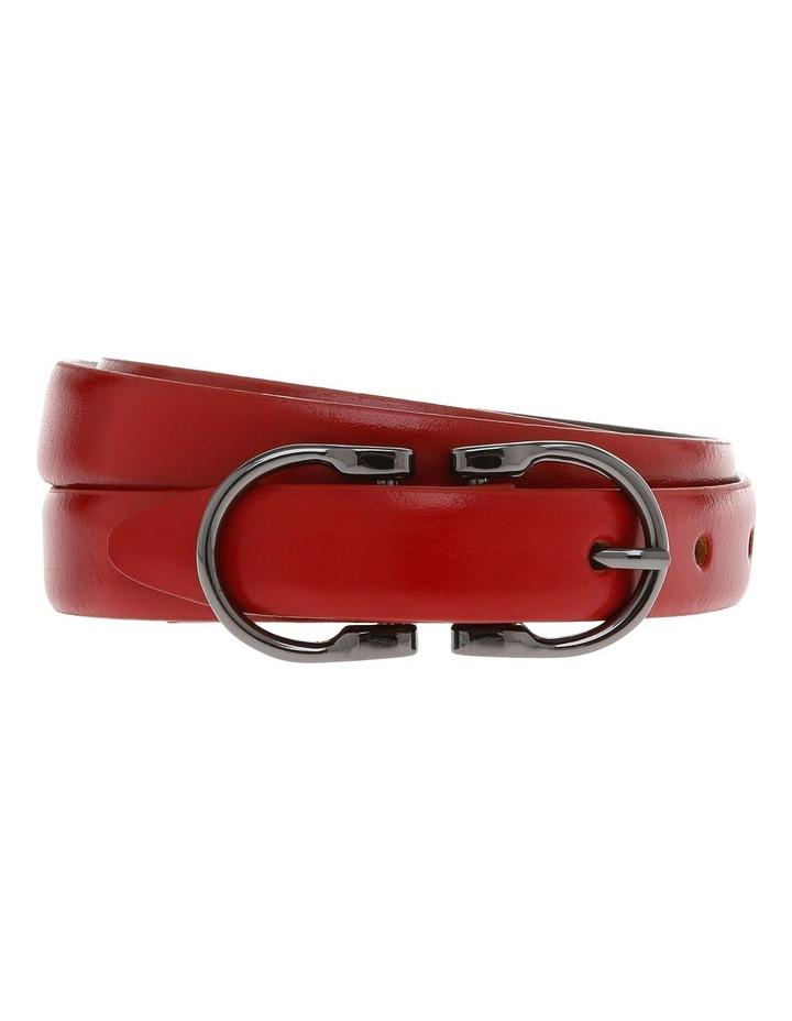 20mm Profile Leather Dress Belt MLA3273 image 1