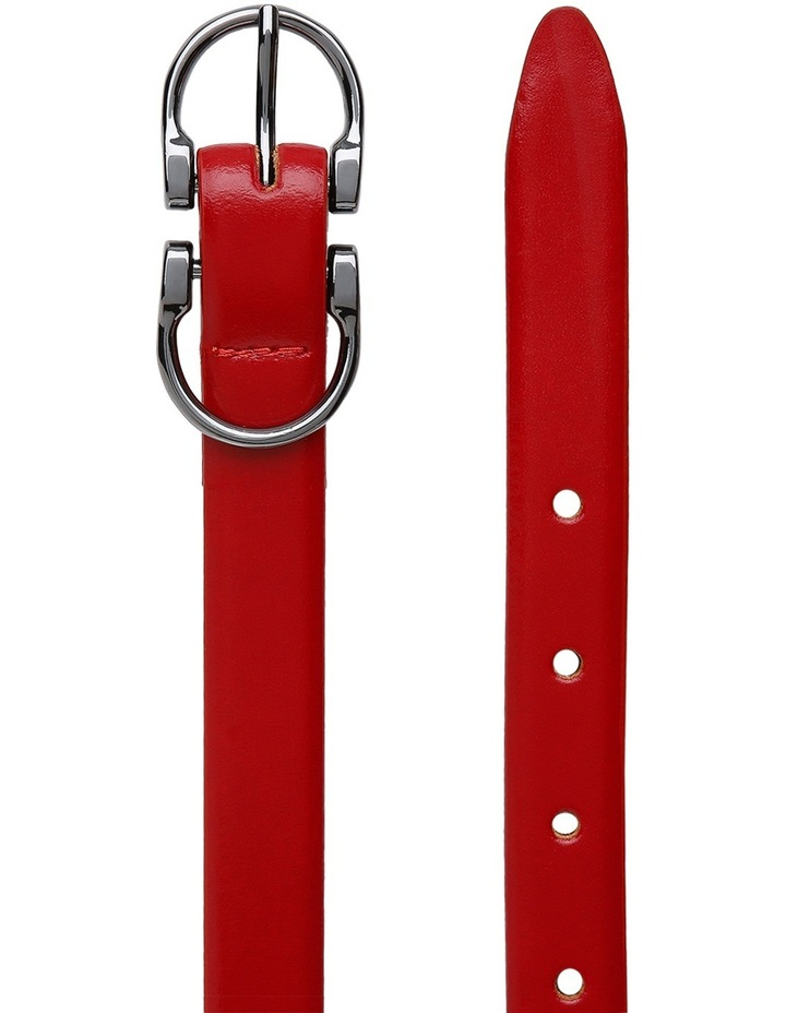 20mm Profile Leather Dress Belt MLA3273 image 2