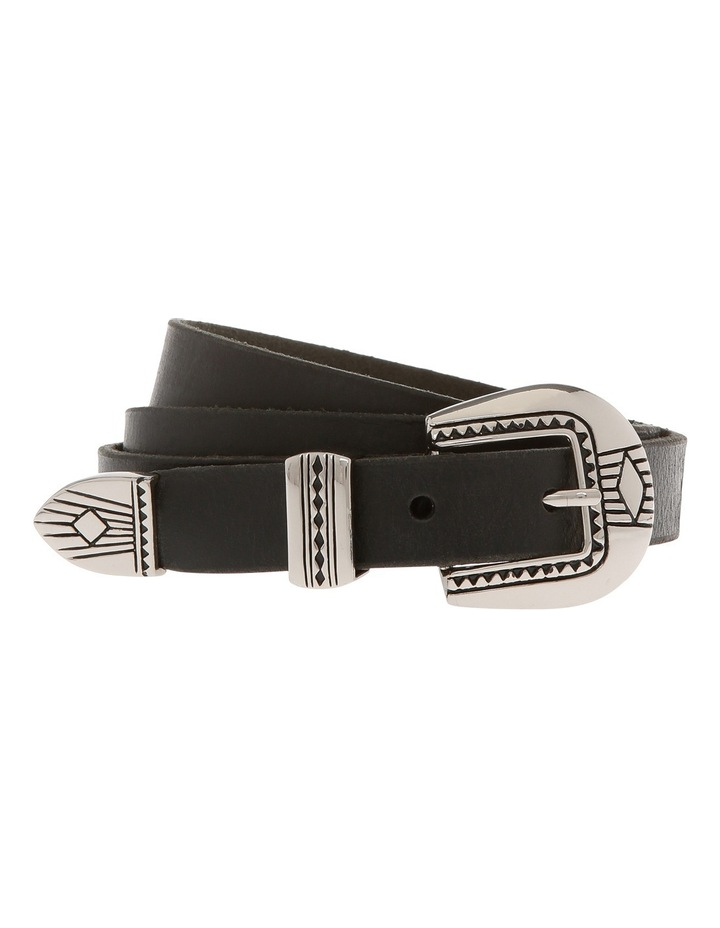 20mm Mulberry Leather Belt MLA1290 image 1
