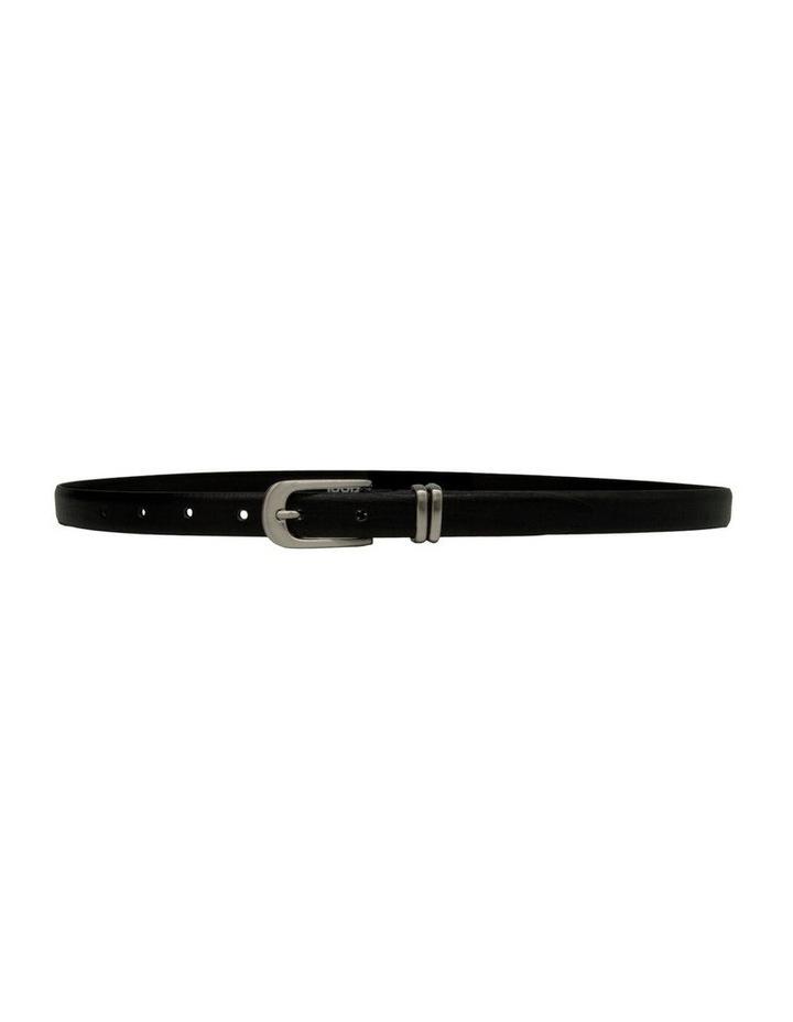 20mm Profile Leather Dress Belt image 2