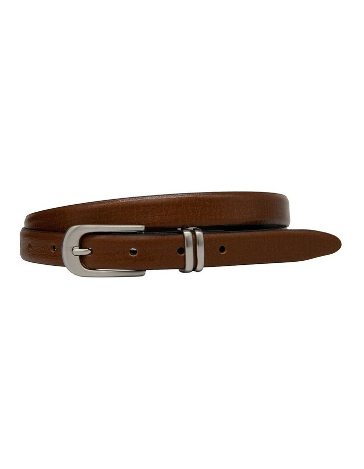 20mm Profile Leather Dress Belt image 1