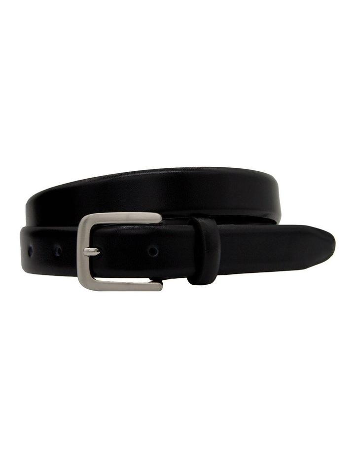 4488 25mm Profile Leather Dress Belt image 1