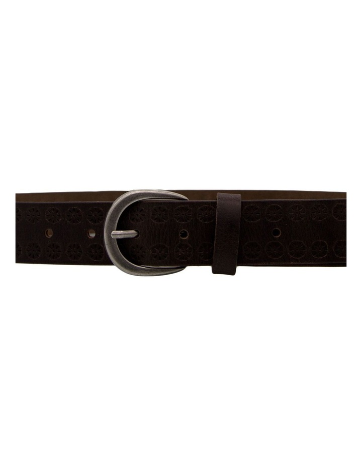 35mm Vintage W Emboss Belt image 3