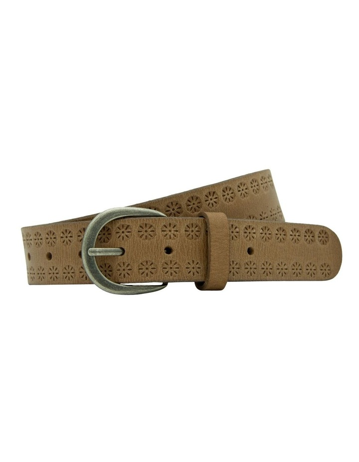 35mm Vintage W Emboss Belt image 1