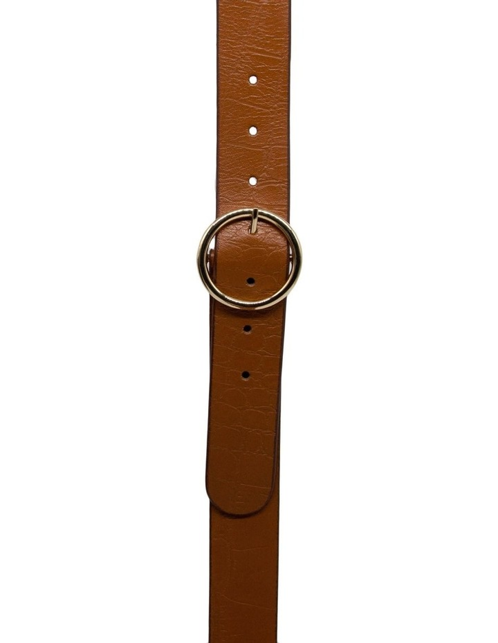 Tan Leather Raffaello Belt image 1