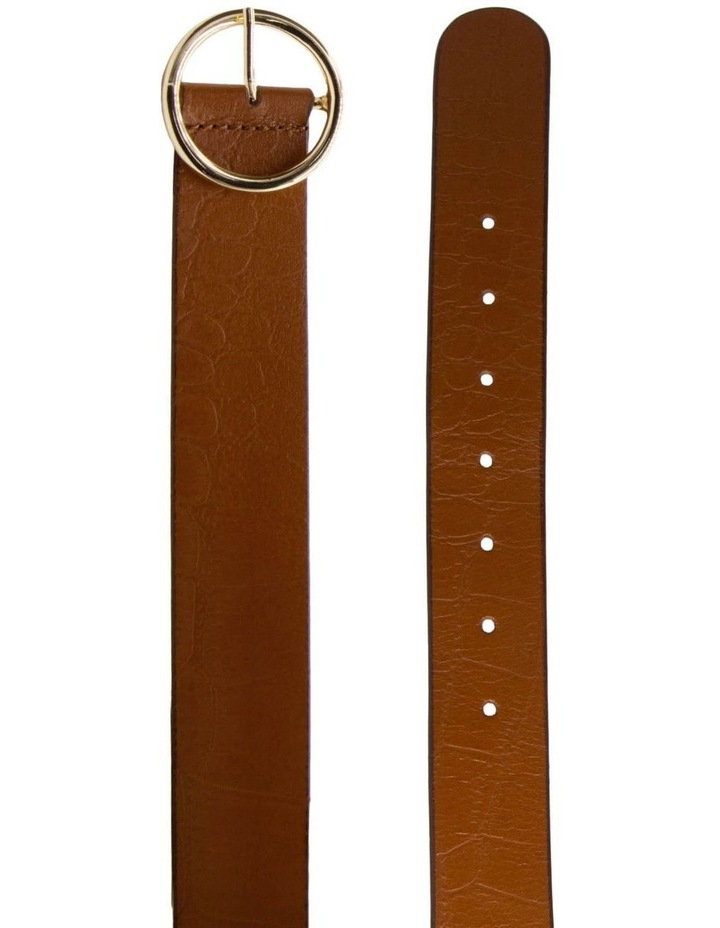 Tan Leather Raffaello Belt image 2