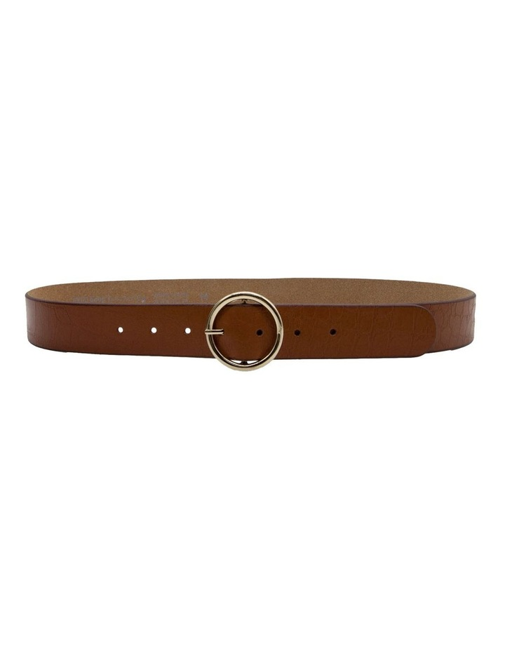 Tan Leather Raffaello Belt image 3