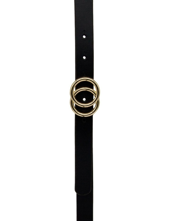 Black Leather Lakeland Belt image 1