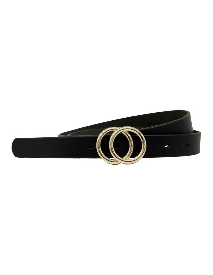 Black Leather Lakeland Belt image 4