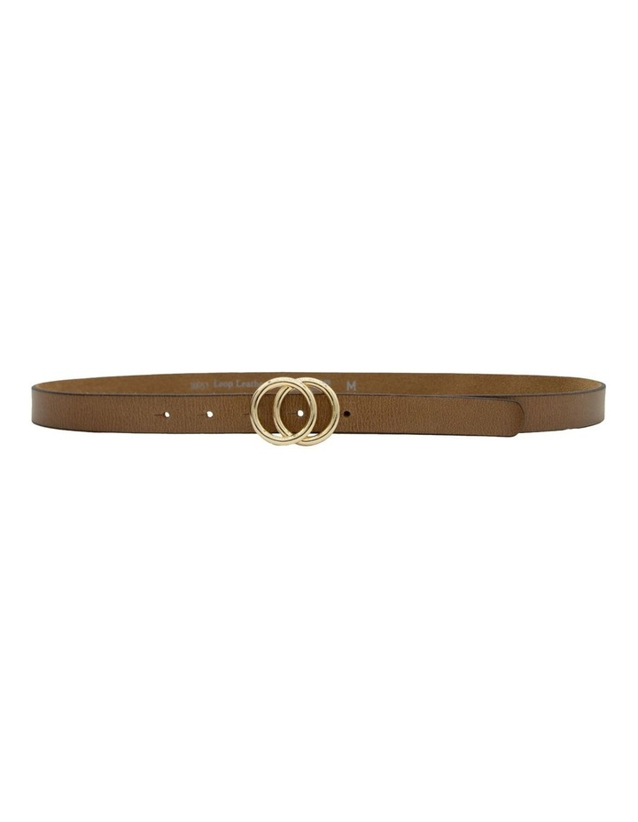 Black Leather Lakeland Belt image 3