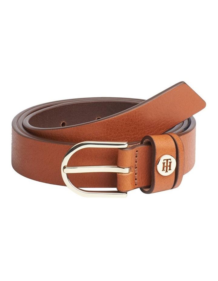 Classic Slim Leather Belt image 1