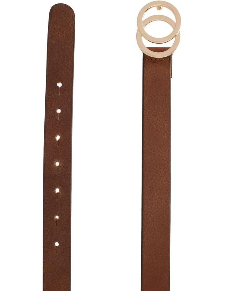 Loop Brandy Tan Leather Brittany Belt image 1