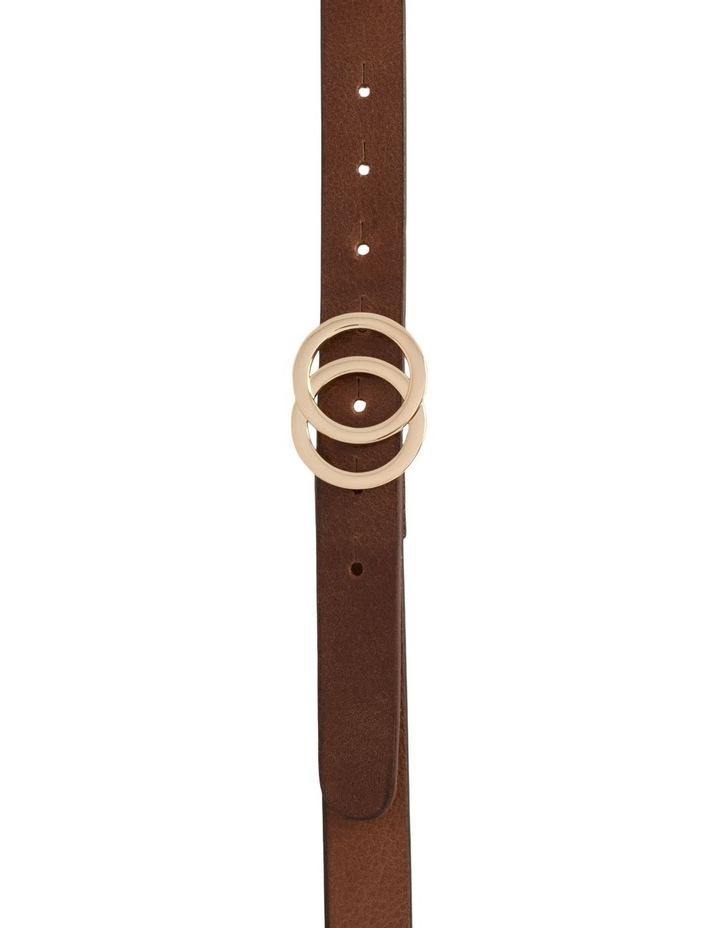 Loop Brandy Tan Leather Brittany Belt image 2