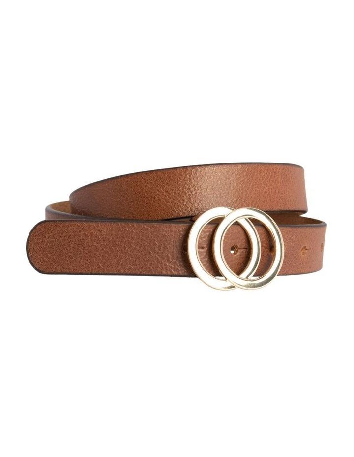 Loop Brandy Tan Leather Brittany Belt image 3