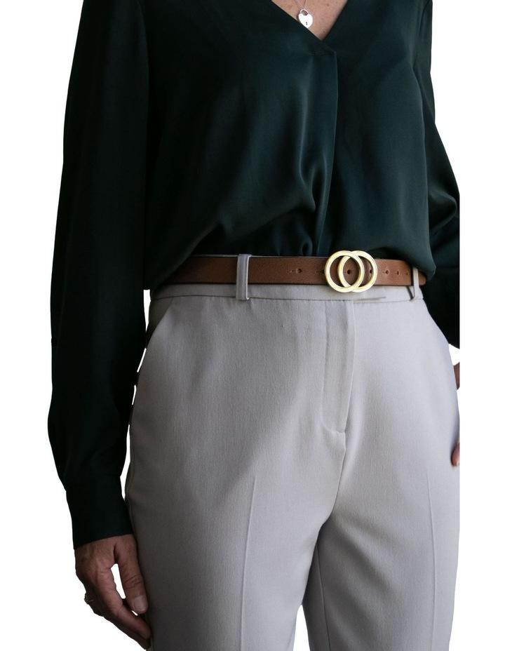 Loop Brandy Tan Leather Brittany Belt image 4