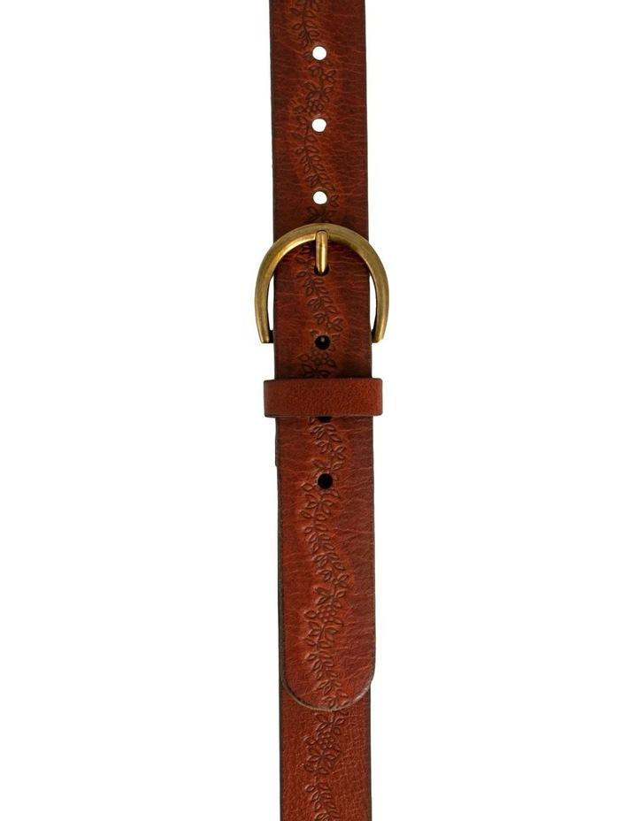 Mid Tan Leather Hillcrest Belt image 1
