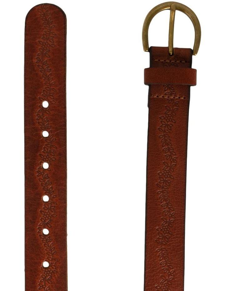 Mid Tan Leather Hillcrest Belt image 2
