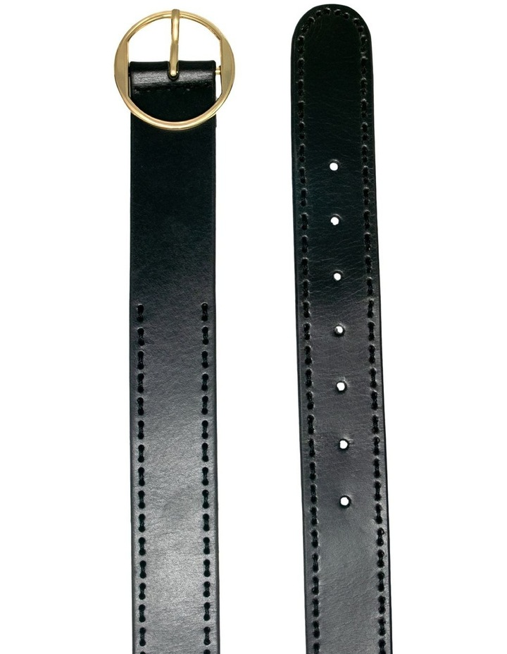 Cherry Lane Black Leather Belt image 2
