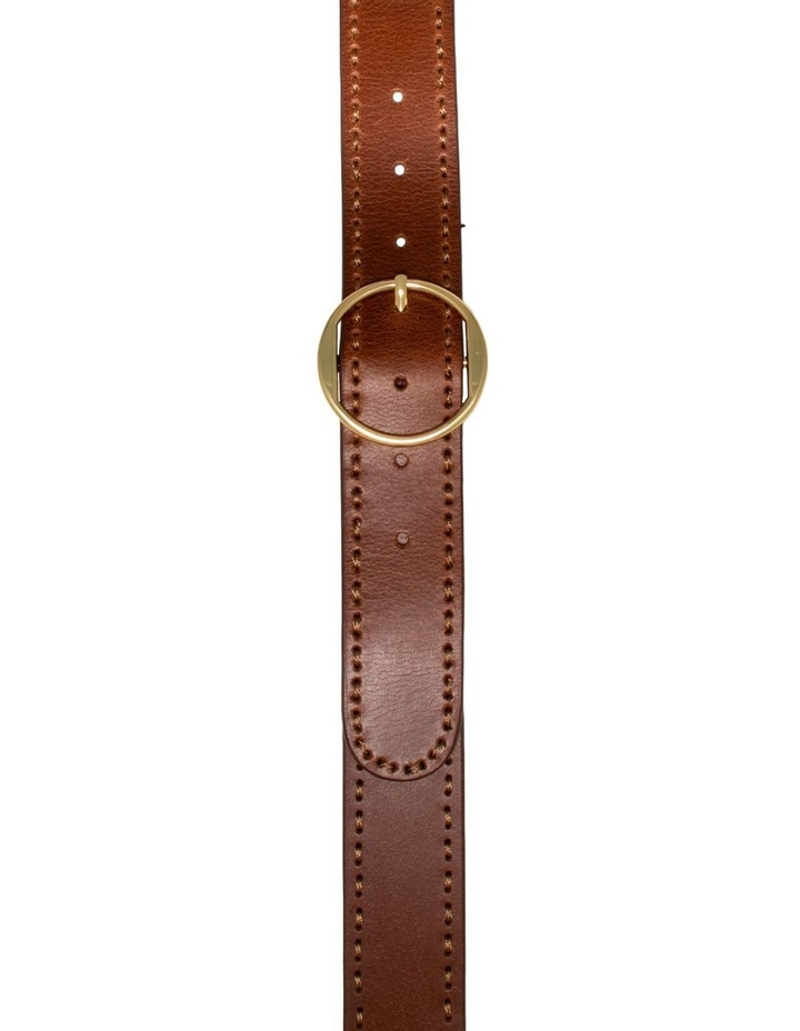 MLA10078 Cherry Lane Tan Leather Belt image 1