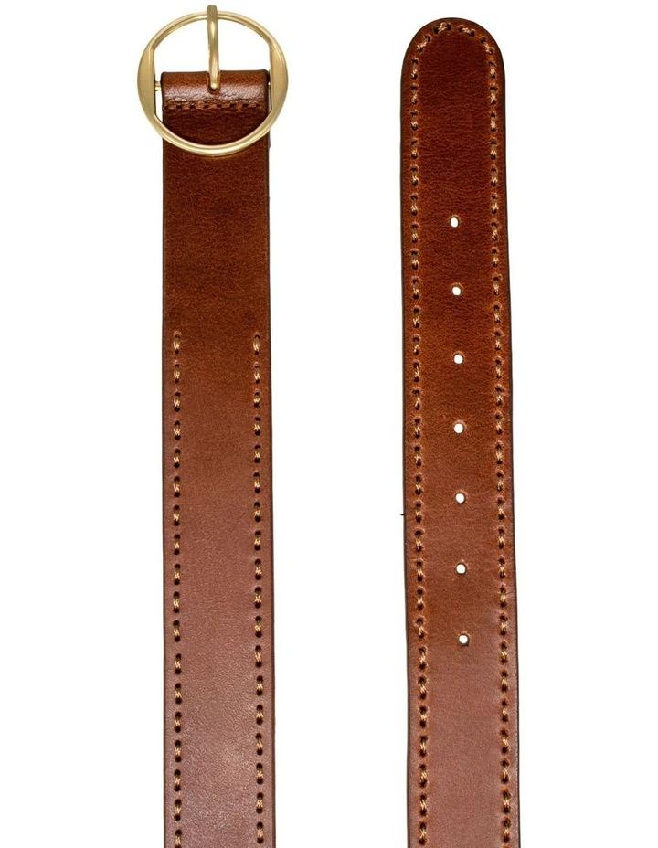 MLA10078 Cherry Lane Tan Leather Belt image 3