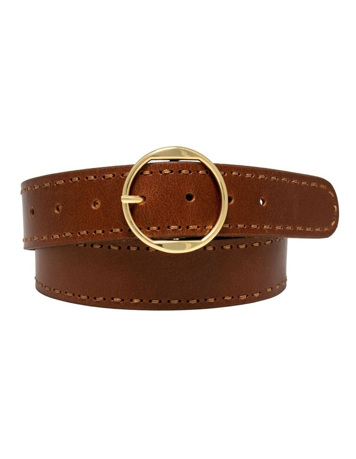 MLA10078 Cherry Lane Tan Leather Belt image 4