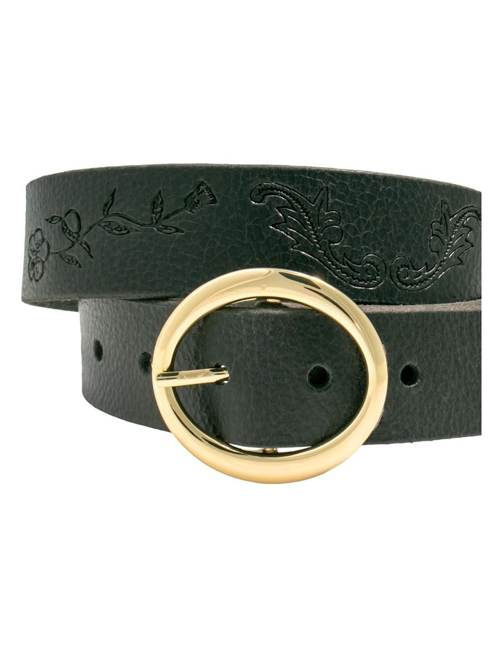 Hosier Black Leather Belt image 4