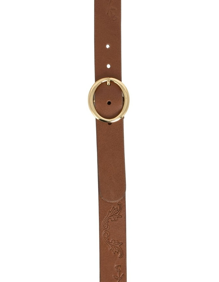 Hosier Tan Leather Belt image 1