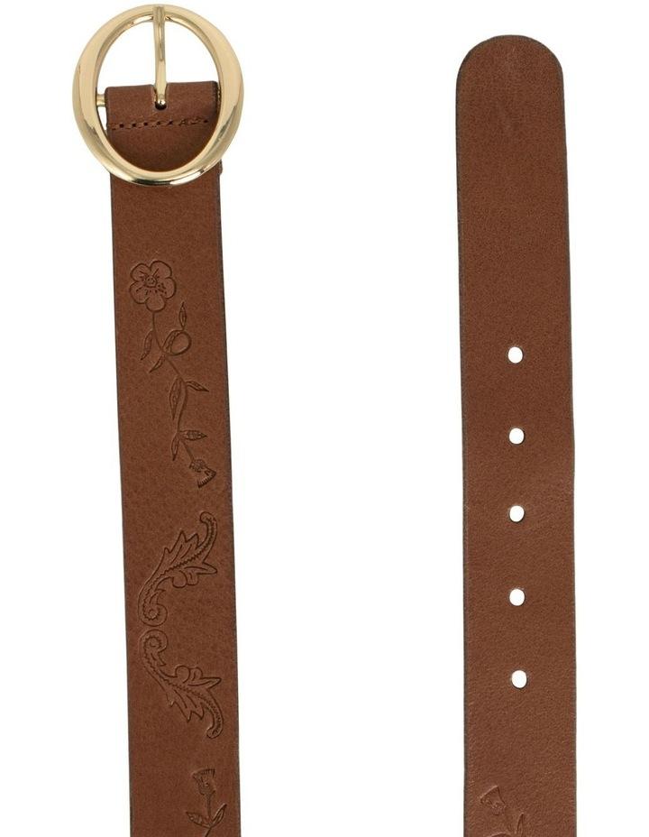 Hosier Tan Leather Belt image 2