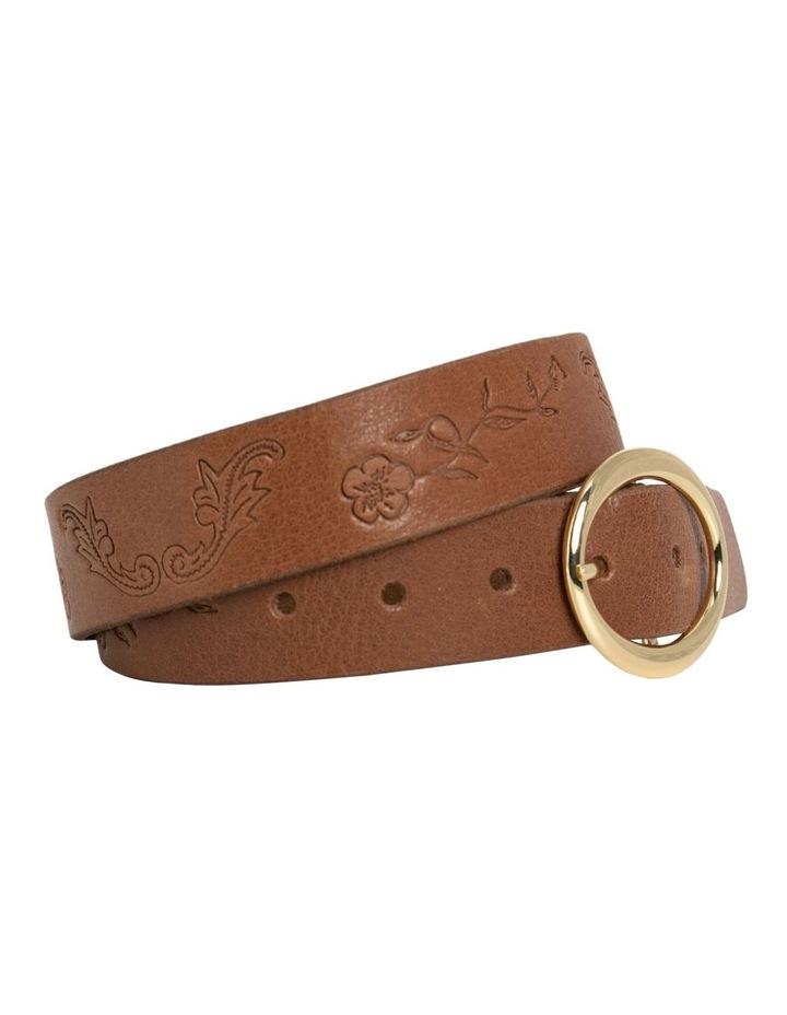 Hosier Tan Leather Belt image 4